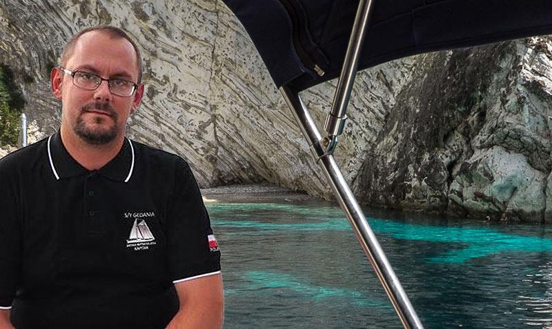 Kapitan Mateusz Mroczek. Oceanis Rejsy po morzu Jońskim, Grecji - czarter jachtów i wynajem